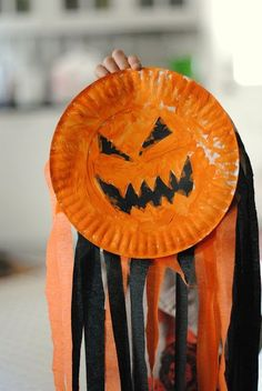 pumpkin wind sock