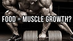 Can You Cause Muscle Growth With Food?  How do you actually go about stimulating maximum muscle growth?  Then what role does food REALLY play in maximizing gains from that stimulation? Answered... http://www.musclehack.com/bodybuilding-food/