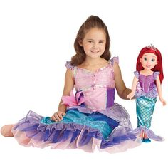 Disney Princess & Me 18 inch Doll - Ariel All Toys, Toys R Us, Disney Junior, Kids Store, Learning Games, 18 Inch Doll, Ariel, Action Figures, Harajuku