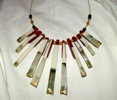 JB Designs :: Custom Ceramic and Beaded Necklace :: Custom Jewelry Design
