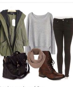 Perfect style for fall or winter. :)