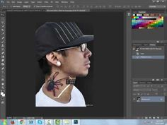 How to make tattos in photoshop
