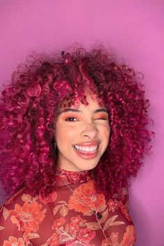 Great hair is the best accessory 💁♀️💅@curlypink_mess in Virgin Pink #AFvirginpink 💕 Hair Color Pink, Pink Hair, Bright Hair, Free Hair, Pink Aesthetic, Hair Goals, Collection, Rosa Hair, Light Hair