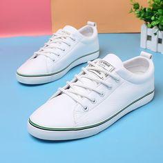 White PU Women Sneaker
