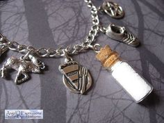 Supernatural Winchester Brothers Sam and Dean Salt Vial by AngelQ, $17.95