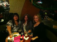 Girls night out. Former employees from Loma Linda university  medical  center   Betty and Michelle
