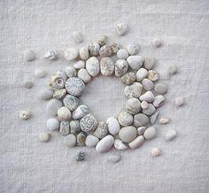 °Pebbles ~ Big Bang Theory by wildgoosechase Pebble Stone, Pebble Art, Stone Art, Land Art, Rock And Pebbles, White Pebbles, Sticks And Stones, Big Bang Theory, Stone Painting