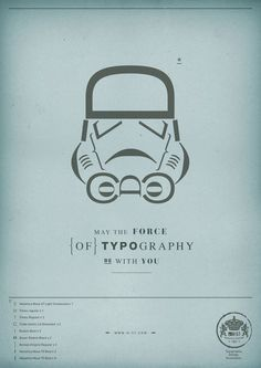 May the Force of Typography be with you - 45 Creative Typography Print Ads | SpyreStudios