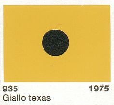 1975 Piaggio 935 Giallo Texas (Texas Yellow)