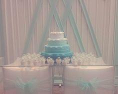 Torta y cupcakes personalizados para el quinceañero de Camila.