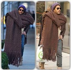 """Jenny B on Twitter: """"#HipsterClassifieds Scarf barely been worn, hand made by my…"""