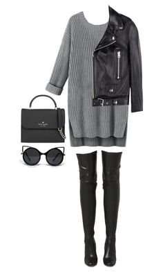 """#620"" by diva-996 on Polyvore featuring Acne Studios, Jeffrey Campbell, Kate Spade and ZooShoo"