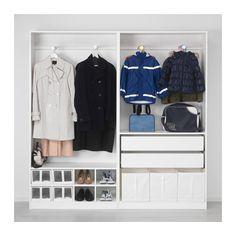 PAX Wardrobe - 200x44x201 cm - IKEA