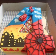 My grandson needs a cake like this!!