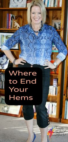 Where to End Your Hems http://www.insideoutstyleblog.com/2014/06/x-marks-the-spot.html