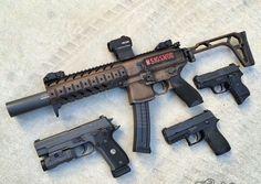 Tactical Guns, Hanuman Wallpaper, Custom Guns, Sig Sauer, 2nd Amendment, Guns And Ammo, Self Defense, Walmart Shopping, Hand Guns