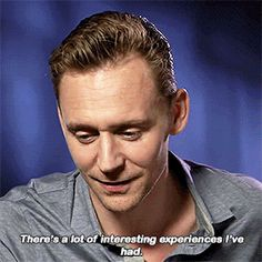Tom Hiddleston on craziest fan experience. Gif-set (by t-hiddles): http://maryxglz.tumblr.com/post/172379920482/t-hiddles-tom-hiddleston-on-craziest-fan  #TomHiddleston