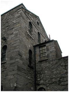 1916 Easter Rising - Kilmainham Gaol where the British imprisoned and executed 14 rebel leaders.