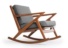 Kennedy Rocking Chair - Thrive Furniture.  American Made.  Lifetime Warranty.