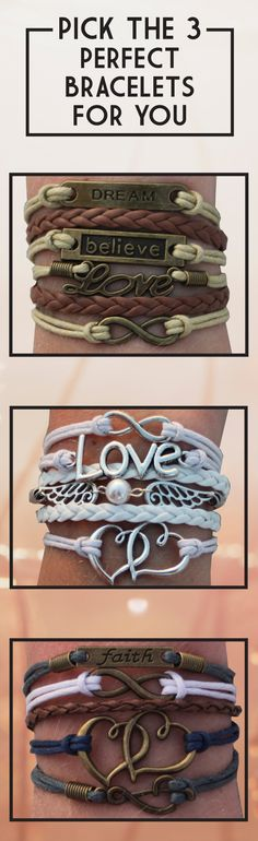 Try our popular layered charm bracelets for free when you cover shipping. Pick…