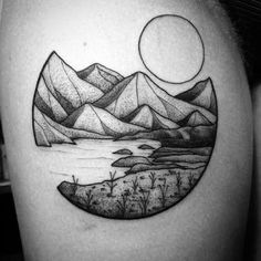 Afbeeldingsresultaat voor dotted tattoos hips and ribs