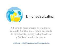 Consejos | Limonada alcalina