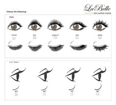 Image result for type of eyelash extensions
