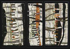 Lorraine Roy | Weekly Fibre Artist Interviews | Fibre Art | International | Canadian | World of Threads Festival | Contemporary Fiber Art Craft Textiles | Oakville Ontario Canada ****