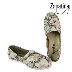 Zapatos Camuflado Blanco / $64.900 / Garantía 60 días / Material lona sintética /  Domicilio gratis en Medellín / Envíos a todo el país ✈️ / Pedidos al 310 544 1615 / www.zapatina.co #Zapatina #Zapatos #Moda