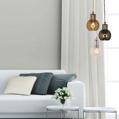Lampa wisząca Acorn, 3 punktowa, czarny i mosiężny | Hanging