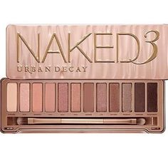 Urban decay naked 3 Urban decay naked 3. Includes doubled ended brush,12 eye shadows, brand new Urban Decay Makeup Eyeshadow