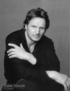 A younger Liam Neeson. Been handsome forever *sigh*