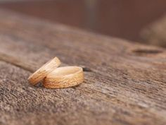 Anniversary / Wedding Rings  Bentwood Ancient Timber by BojtStudio, $180.00