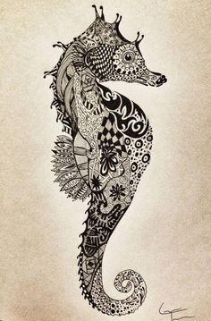 Zeepard Tattoo Sketch