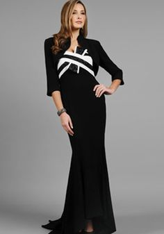 Glamorous Strapless Neckline Empire Waist Mermaid With Sleeveless Mother of the Bride Dresses - 1300304965B - US$309.99 - BellasDress