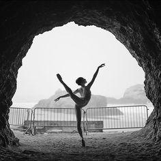 #Ballerina - @mikofogarty at #LandsEnd #SanFrancisco #ballerinaproject_ #ballerinaproject #ballet #dance by ballerinaproject_