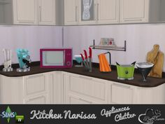 Appliances and Clutter Narissa by BuffSumm at TSR via Sims 4 Updates
