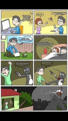 This is why I don't kill spiders