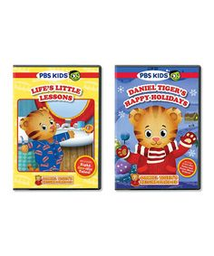 Another great find on #zulily! Daniel Tiger's Happy Holidays & Life's Little Lessons DVD Set by PBS KIDS #zulilyfinds