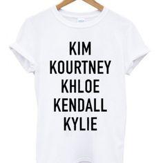 Kardashian Sisters T-shirt