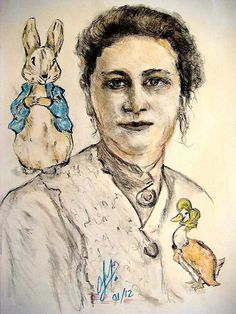 "#OnthisDay  Beatrix Potter dies! (aged 77)  Author, illustrator, natural scientist and conservationist; best known for her children's books featuring Peter Rabbit. Squirrel Nutkin, Mrs Tiggy-Winkle, etc.  For further interest, visit Pen and Sword Books and discover the social history book about Beatrix's inner world, ""BEATRIX POTTER"" is available to buy for just £19.99.  http://www.pen-and-sword.co.uk/Beatrix-Potter-Hardback/p/6042"