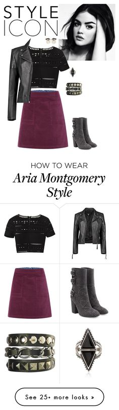 """""""Aria Montgomery"""" by hayleyl22 on Polyvore featuring Laurence Dacade, White Stuff, Sydney Evan, Hervé Léger, Boohoo and Ross-Simons"""