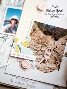 Mini Albums Scrapbook, Scrapbooking, Julie, Jolie Photo, Polaroid Film, Adventure, White People, Scrapbooks, Memory Books