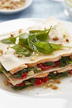 Lasagne s lososem a baby špenátem Ethnic Recipes, Lasagna