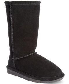 Bearpaw Emma Tall Boots, Little Girls (11-3) - Black 13