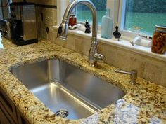 Seamless Sink In Granite Kitchen Setting Large Single Bowl   Traditional    Kitchen Sinks   Cincinnati   By Create Good. Not Sure If Iu0027ll Do Granite In  The ...