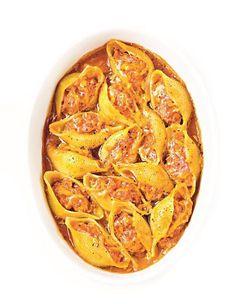 Pâtes farcies poivron-mimolette pour 4 personnes - Recettes Elle à Table
