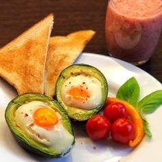 Avokádós tojás reggeli   Varga Gábor (ApróSéf) receptje - Cookpad receptek Avocado Egg, Eggs, Breakfast, Food, Morning Coffee, Essen, Egg, Meals, Yemek