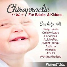 I've treated babies with reflux loss of appetite developmental disabilities and more. #chiropractic #children