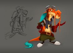 Character Design on Behance ★ Find more at http://www.pinterest.com/competing/